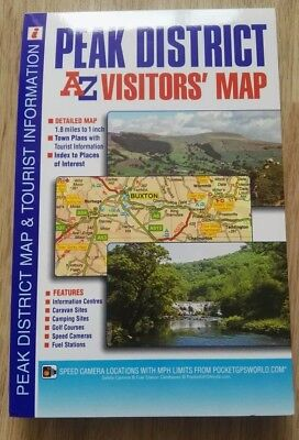 Peak District Visitors Map by Geographers' A-Z Map Company (Sheet map, folded, …