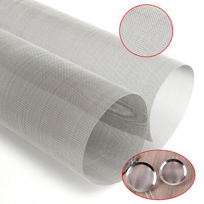 50cm x 50cm Stainless Steel 30 Mesh Wire Screen Filtration Grill Sheet Filter