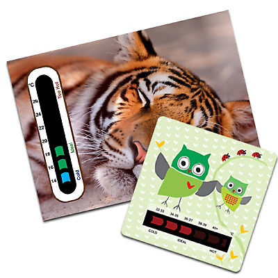 Baby and Child Temperature Set with Nursery Room and Bath Water Thermometer