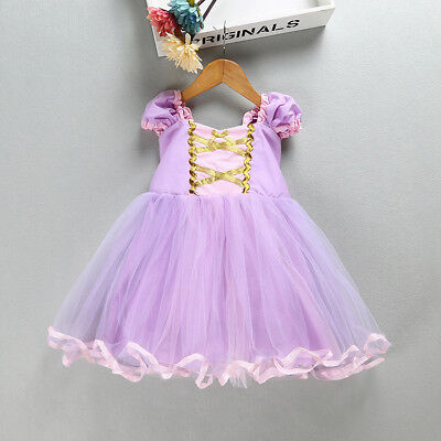 Sleeping Beauty Toddler Bady Girl Princess Tutu Dress Cosplay Party Costume O50