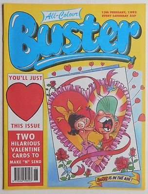 BUSTER COMIC - 13th February 1993