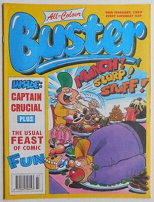 BUSTER COMIC - 20th February 1993
