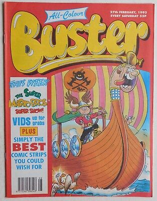 BUSTER COMIC - 27th February 1993