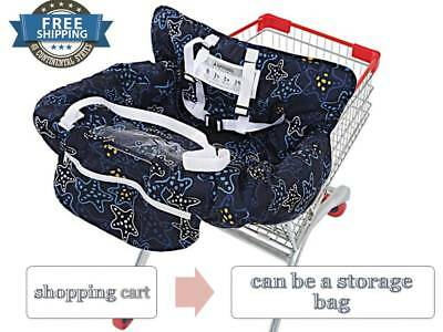 Shopping Cart Seat Cover High Chair Cover for Baby NEW UNKU Multifunctional 2in1