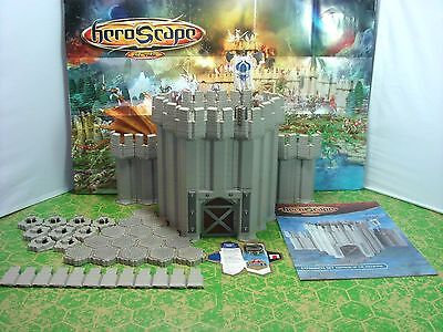 Heroscape Fortress of the Archkyrie Castle Wall & Tower Expansion Set - Complete