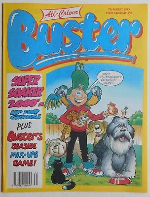 BUSTER COMIC - 7th August 1993