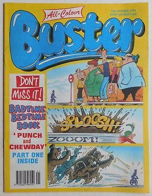 BUSTER COMIC - 16th October 1993