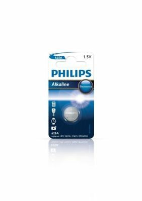2x Philips 625A Alkaline Button Cell Batteries LR9 1.5V Replaces LR9 V625U D625