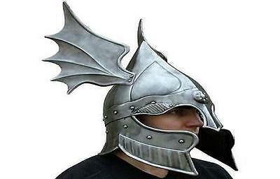 Dragon vinking Medieval Barbute Helmet Armour Roman knight Helmets with Liner
