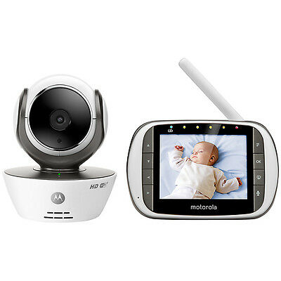Motorola MBP853 Connect Wifi Digital Video Baby Monitor - FREE HUBBLE APP