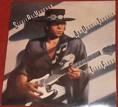 LP: Stevie Ray Vaughan And Double Trouble - Texas Flood / EPIC 1983