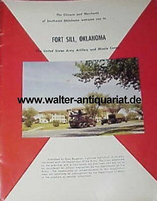 Fort Sill The US Army Artillery and Missile Center ca.1970 Oklahoma Militär USA