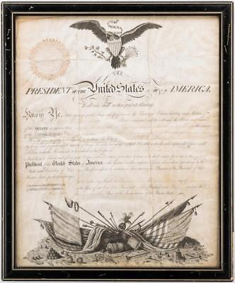 President Jefferson and Gen. Dearborn Signed Military Appointment Lot 268
