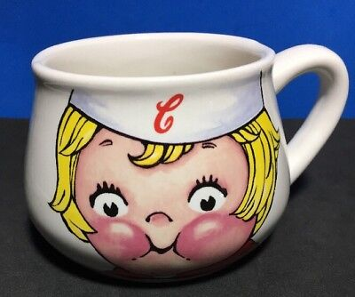 Campbell's Soup Souper Mug Dolly Dingle 1998 Kid Large Ceramic 14oz M'm M'm Good