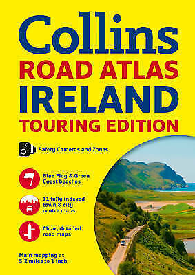 Collins Ireland Road Atlas: Touring edition by Collins Maps (Paperback, 2017)