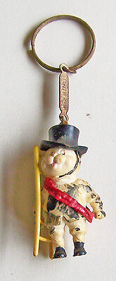 Vintage Keychain Figure With A Ladder A Must See