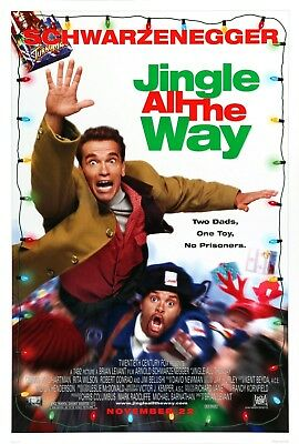Jingle All The Way (1996) Original Movie Poster  -  Rolled