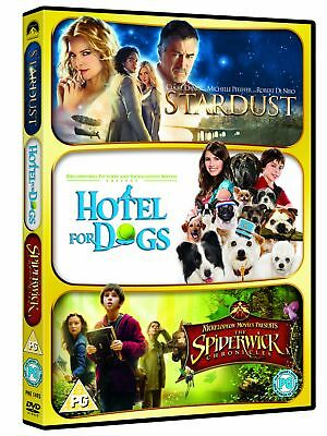 Stardust / Hotel For Dogs / The Spiderwick Chronicles [DVD] New Sealed Region 2