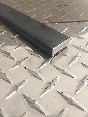 "1/2"" x 1-1/2"" A36 Hot Rolled Steel Flat Bar x 12"" Long"