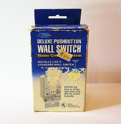 Levitron Deluxe Push Button Wall Switch