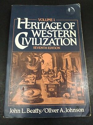 Heritage of Western Civilization Vol. 1 by Oliver Beatty and Oliver A. Johnson