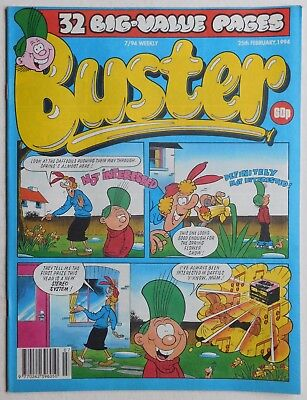 BUSTER COMIC - 25th February 1994
