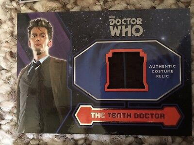 Topps Doctor Who 2015 David Tennant Tenth Dr Suit Trousers Costume Card