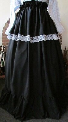 Victorian Style Skirt Dickens Christmas Carol Costume Fancy Dress Ooak New