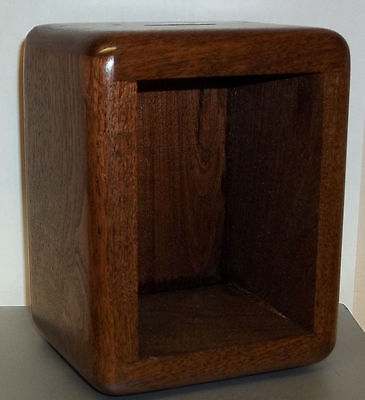 """Walnut Bank Cabinets for Size 1 """"Grecian"""" Post Office Box Doors"""
