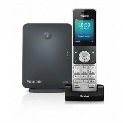 Yealink IPY-W60P 8 Line DECT HD IP Cordless Color Phone w Base Station