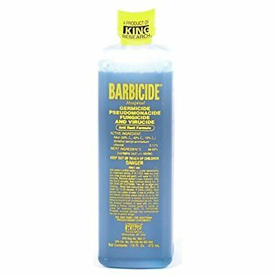 Barbicide Salon Barber Professional Disinfectant Solution 473 ml