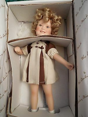 "Shirley Temple Doll - ""poor Little Rich Girl""  Movie Memories Danbury Mint"