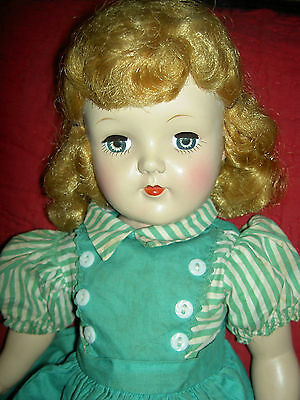 """Lovely large, 19"""", 1950s Ideal TONI P 92 blonde doll with original clothing"""