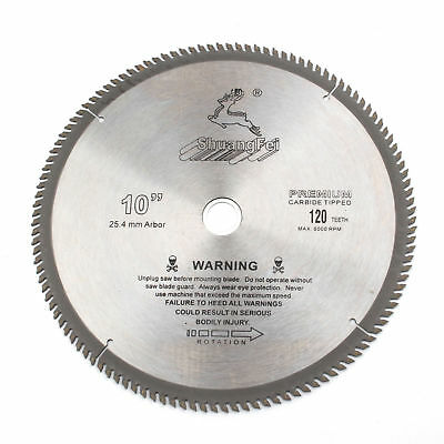 "10"" Inch Aluminum Cutting Saw Blade Circular Saw Blade 120Teeth"