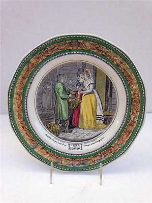 "Adams ""Cries of London"" 10"" Real English Ironstone Art Plate"