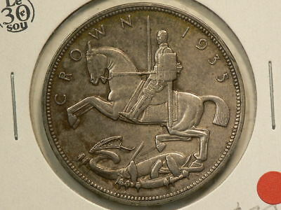 Great Britain 1935  Silver Crown King George V  KM#842 #G8587