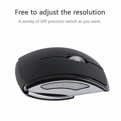 af1495dc556 Foldable Fold 2.4 Ghz Wireless Arc Optical Mouse Mice USB Receiver for PC  Laptop