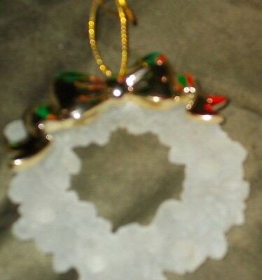 "Avon Christmas tree decoration ""Holiday Reflections Decoration wreath"""