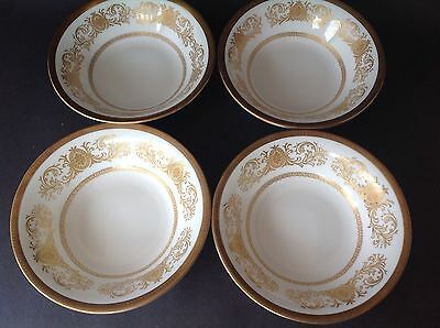 RARE! ANTIQUE AYNSLEY FINE ENGLISH BONE CHINA IMPERIAL GOLD 194 oNE CEREAL BOWL