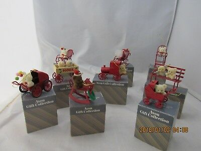 Avon Gift Collection Ornaments  (8 each) Vintage Christmas