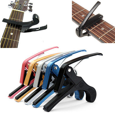 Electric Guitar Change Acoustic Trigger Capo Key Quality High Quick Clamp