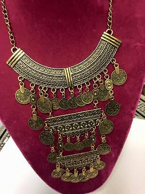 Unique Hand Made Bedouin Egyptian (Tribal style) Necklace Made in Egypt