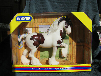 Breyer #620 American Spotted Draft On The Head Down Draft Mold NRFB!