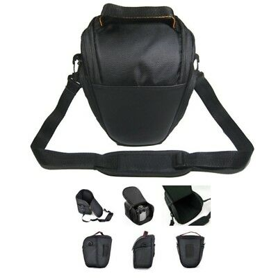 Waterproof Camera Case Shoulder Bag Backpack Fashion Triangle For Canon EOS DSLR
