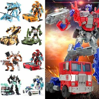 Dark of the Moon Transformers Autobots Optimus Prime etc Action Figures Robot-AU
