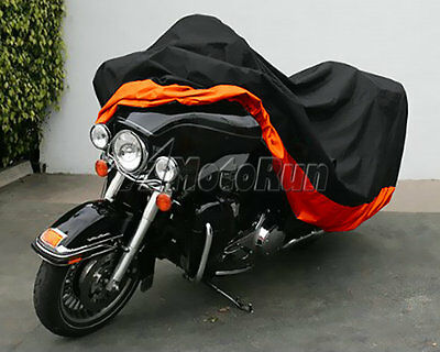 XXXL Waterproof Motorcycle Cover For Honda Goldwing GL 1200 1500 1800 Touring