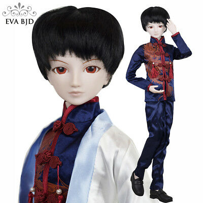 """Play Boy 1//3 SD Doll 60cm 24/"""" Jointed Doll Male BJD Doll Basic Makeup Full Set"""