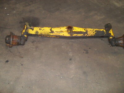 Massey Ferguson 50 Front Axle Assembly with Stub Axles & Hubs with Steering Arms