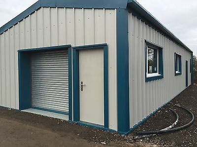 Steel Building Office Storage Prefab Industrial Commercial ***UK SUPPLIER***