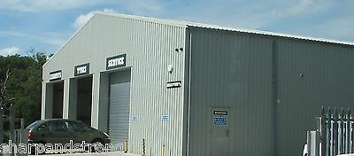Prefabricated Steel Industrial Car Garage MOT Centre Workshop Industrial